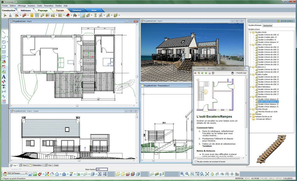 Cao for Plan de construction en ligne
