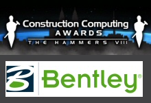 Bentley Systems à nouveau nommée « Entreprise de l'Année » par Construction Computing