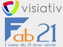 Visiativ et Fab21 s'associent autour du numérique pour inventer l'usine de demain