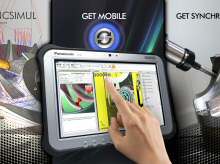 Le Toughpad FZ-G1 de Panasonic en action avec SPRING Technologies