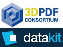 Le 3D PDF Consortium Accueille Datakit