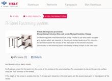 Tekla développe un outil collaboratif et lance sa bibliothèque BIM, le Tekla Warehouse