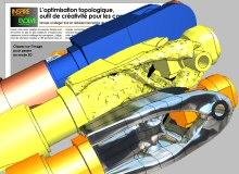 Le portail CAO.fr publie un nouveau journal en 3D consacré à l'Optimisation Topologique