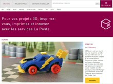La Poste renforce son implication dans l'univers de l'impression 3D