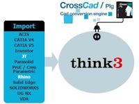 Datakit propose deux nouveaux plug-ins d'import pour ThinkDesign
