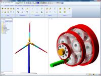 Avec AdWiMo-CE, MSC Software réduit les délais de certification des éoliennes