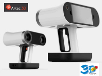 3D Avenir présente le scanner autonome Artec Leo avec calculateur et écran intégrés