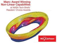 MSC Marc élu produit de l'année au NASA TECH BRIEF
