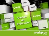 WorkPLAN, ERP/GPAO, au service de l'Industrie 4.0 aux Salons Solutions de Paris