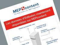MEPcontent et Edibatec associent leurs compétences