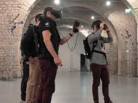 La salle de réalité virtuelle