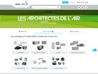 Le fabricant de solutions CVC France Air rejoint la plateforme de BIM&CO