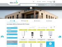 Le fabricant ACV rejoint le catalogue d'objets BIM de BIM&CO
