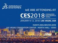 CES 2018 : Dassault Systèmes présente de nouvelles expériences 3D