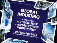 GLOBAL INDUSTRIe se déroulera du 27 au 30 mars 2018 à Paris Nord Villepinte