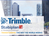 Trimble et Stabiplan seront présents ensemble au BIM World 2018