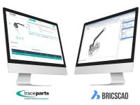 Le format BricsCAD est disponible depuis la plateforme TraceParts