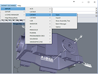 Les plug-ins d'import/export CAO de Datakit sont compatibles avec Rhino 6
