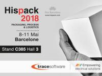 Trace Software International expose à HISPACK le salon espagnol de l'emballage
