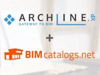 Les objets de BIMcatalogs.net sont maintenant accessibles dans ARCHLine.XP