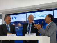 Ingénierie nucléaire : EDF, Dassault Systèmes et Capgemini signent un partenariat