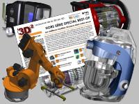 CAO.fr présente son dernier journal en 3D avec les plus beaux modèles publiés en 12 ans