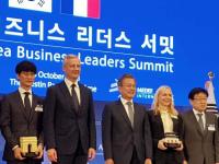 Dassault Systèmes reçoit le trophée France-Korea Business Award
