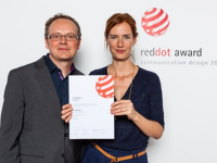 EOS et Usetree reçoivent un red dot design award