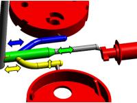 SIGMASOFT permet d'équilibrer un moule par optimisation de sa géométrie