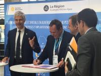 Percall, la Région Auvergne-Rhône-Alpes et Pôle Emploi signent une convention de formation