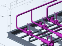 M4 ISO génère automatiquement des isométriques de tuyauteries