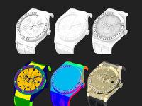 L'Horloger 3D réalise des rendus 3D photoréalistes de montres