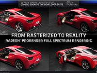 AMD dévoile les mises à jour de Radeon ProRender