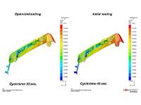 Améliorer la déformation des pièces et du temps de cycle avec le Virtual Molding
