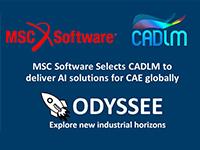 MSC Software choisit CADLM pour fournir des solutions d'IA