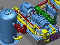 CAD Schroer : planification 3D de petites usines de transformation