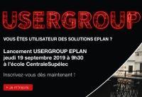 Lancement du USERGROUP EPLAN en France le Jeudi 19 Septembre 2019