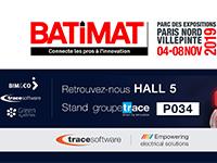 Trace Software International participe au salon BATIMAT à Paris
