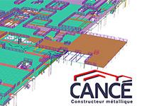 CANCE Constructeur Métallique choisit Tekla Model Sharing pour tous ses chantiers