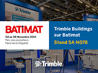 Trimble au salon BATIMAT 2019