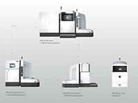 EOS présente ses solutions pour une impression 3D en métal, flexible et automatisée