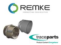 Catalogue de produits Remke disponible sur la plateforme CAO TraceParts