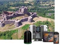 La technologie Leica Geosystems au service de la préservation du patrimoine