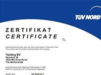 EDA EXPERT relaie la certification du logiciel TASKING VX