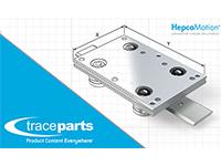 HepcoMotion choisit TraceParts pour publier ses données de produits en 3D