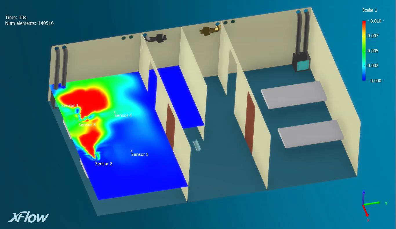 L'hôpital Leishenshan de Wuhan utilise des solutions de Dassault Systèmes pour simuler et prévenir la prolifération de la contamination