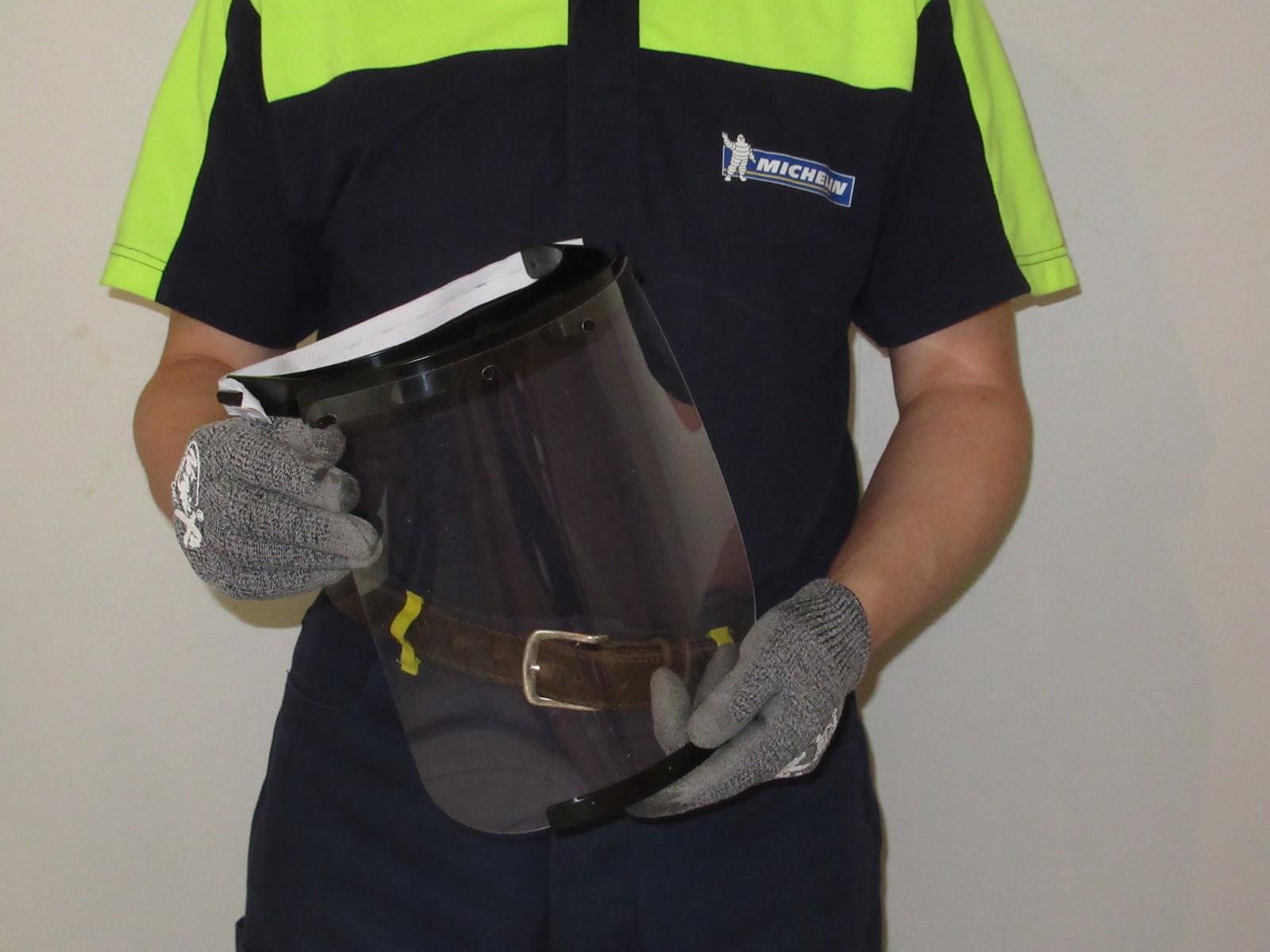 Protolabs accompagne Michelin dans la création d'un bouclier facial stérilisable  pour le personnel soignant.