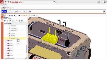 Nouvelle version 12 SP9 pour Aras Innovator