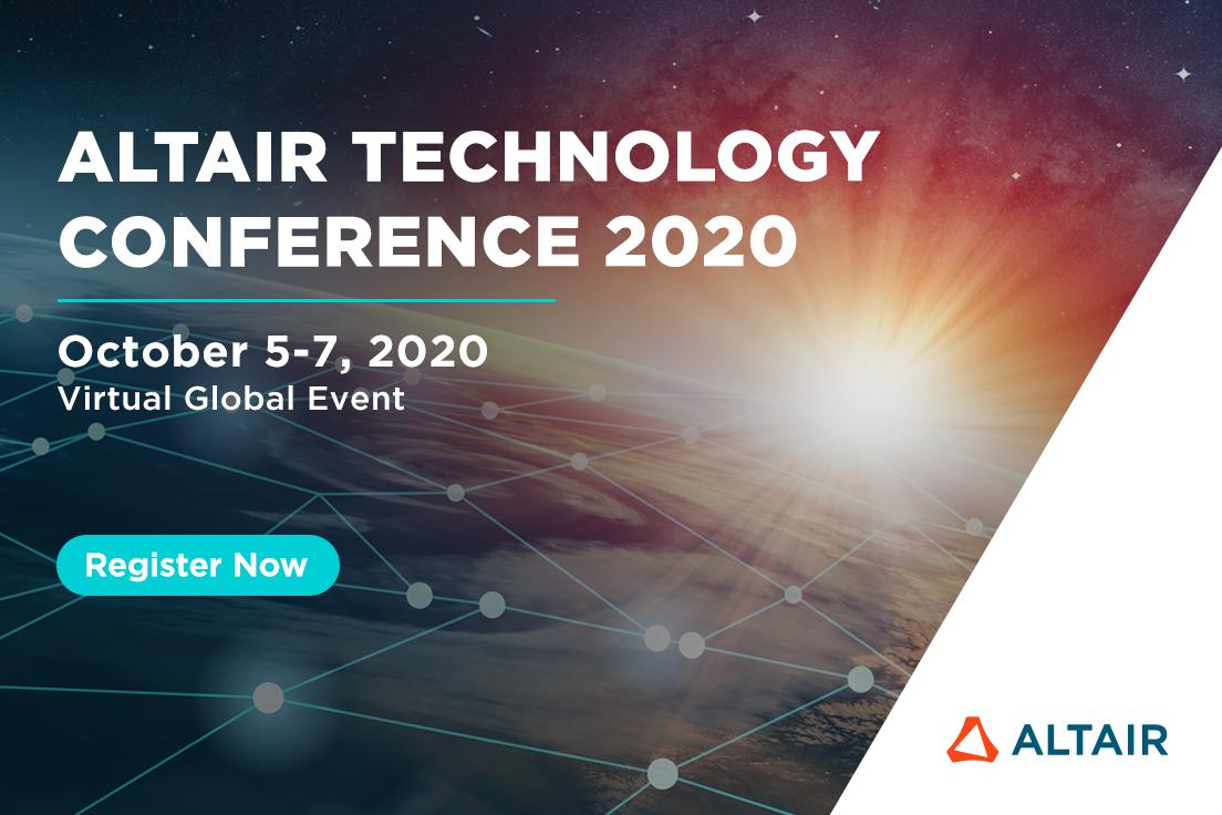 """L'édition 2020 de la Conférence Technologique internationale d'Altair  sera dédiée au thème de """"Le Futur de …"""""""
