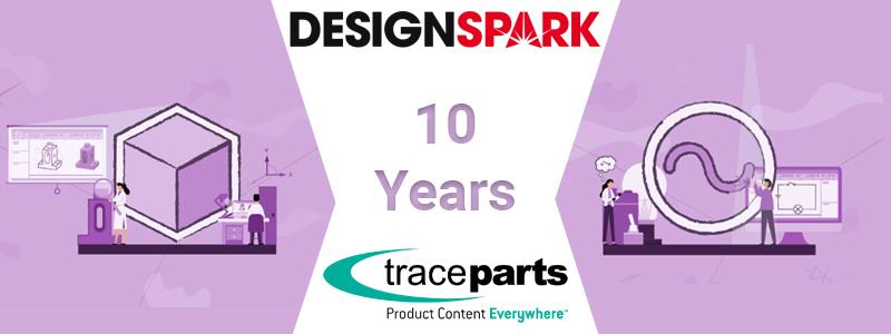 TraceParts fête ses 10 ans au cœur de la communauté d'ingénierie DesignSpark